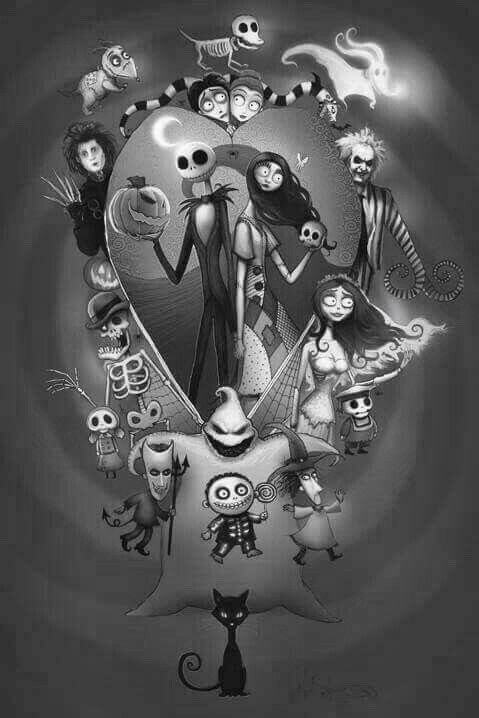 Tim Burton Corpse Bride Frankenweenie And Edward Scissorhands Image 6397302 On Favim Com