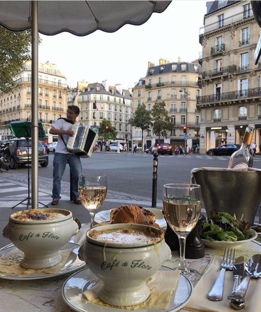 french, cafe de flore, travel and bread