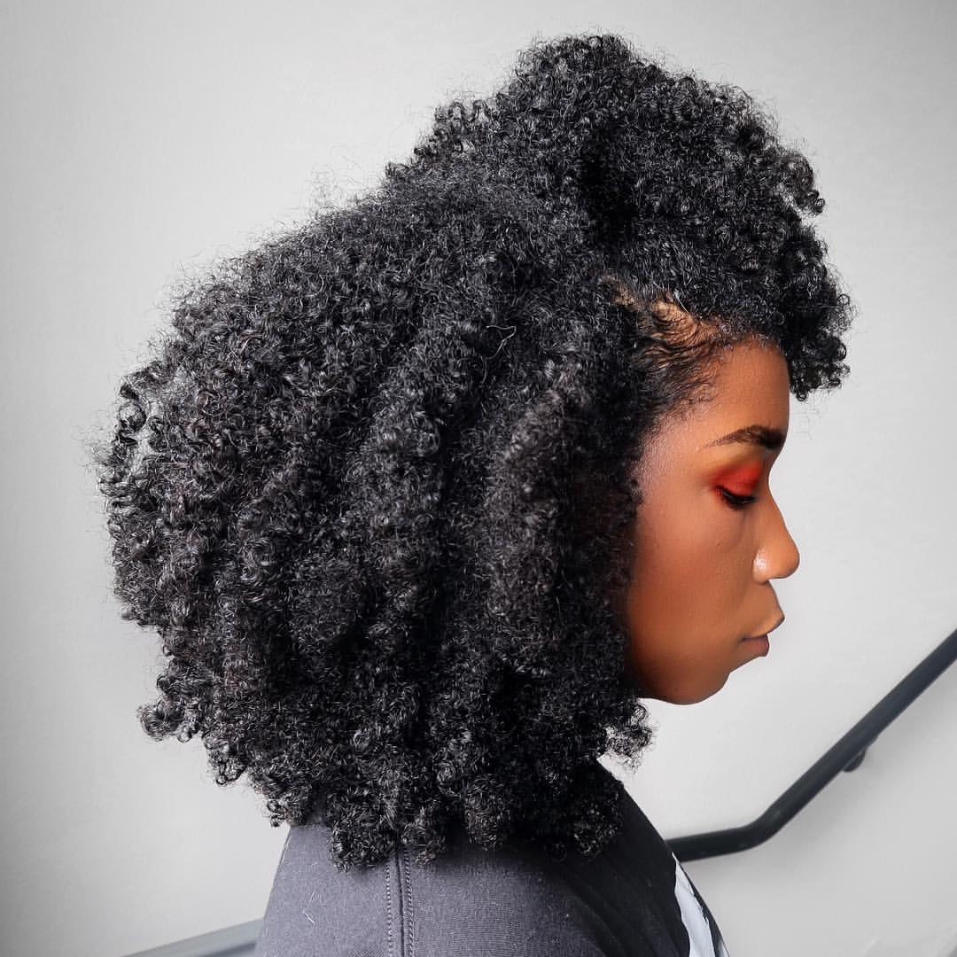 healthy hair, type 4 hair, kinky hair and texture hair