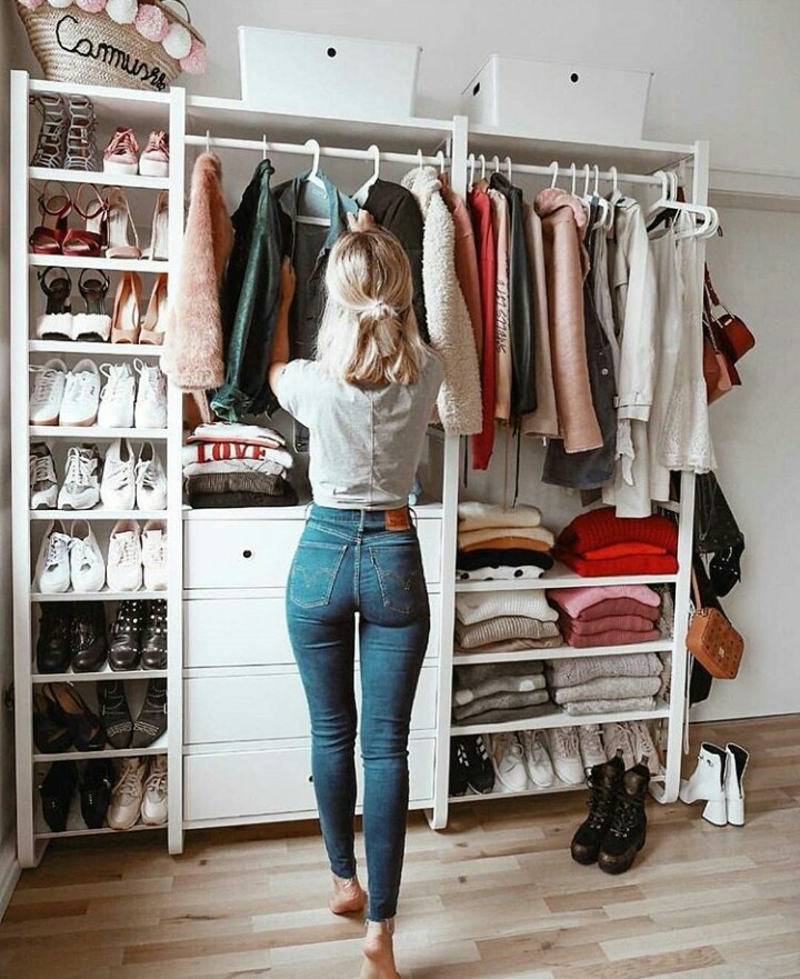 home, closet and blonde