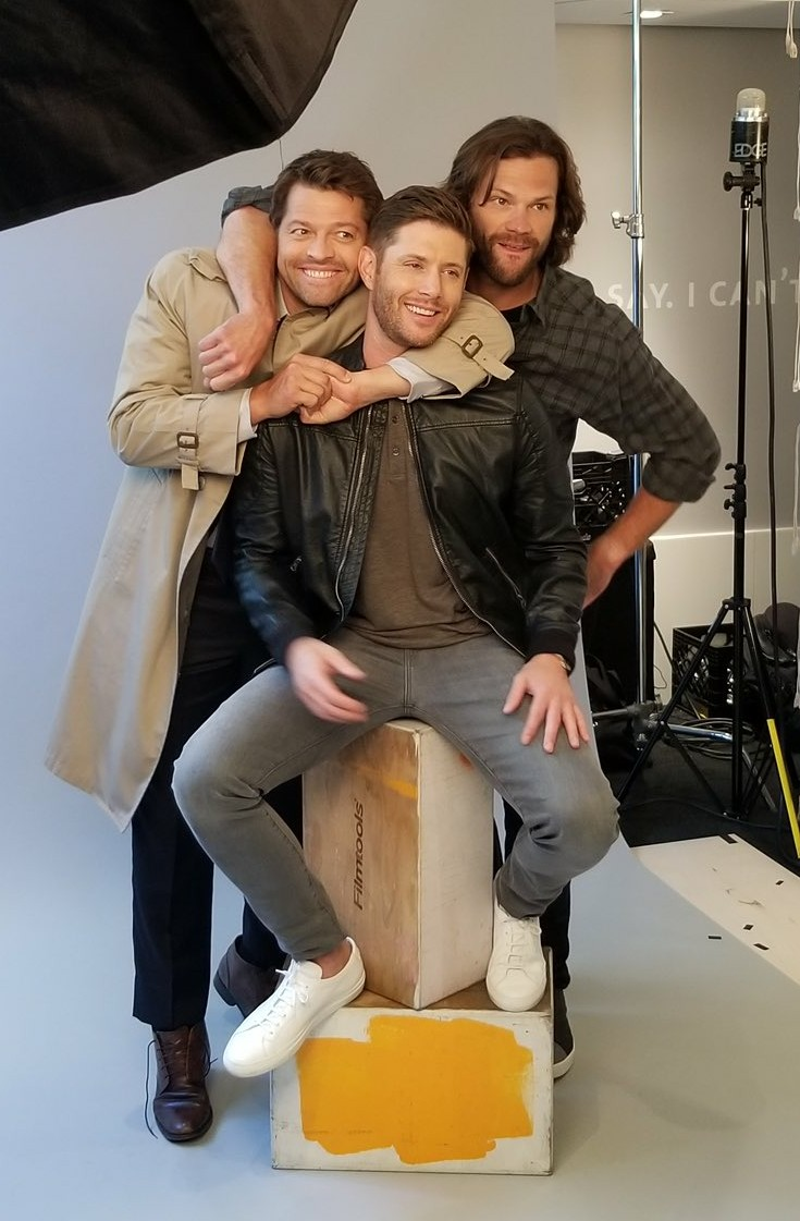 j2m, misha collins and winchester