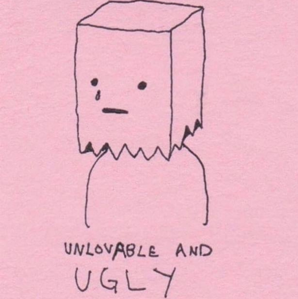 ugly, love and quote