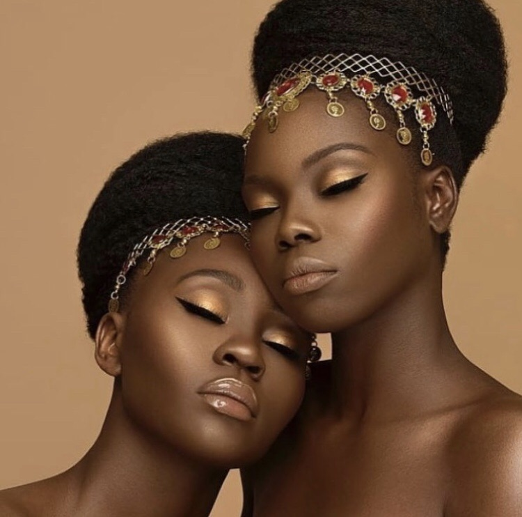 kkw beauty, darkskin queens, sunkissed and becca cosmetics