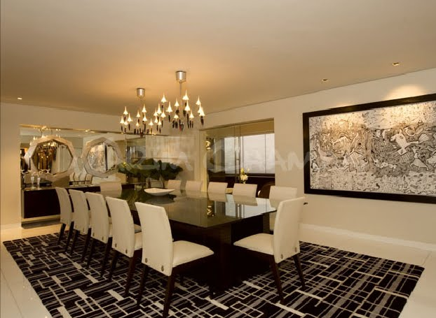 luxury, dining room and 12