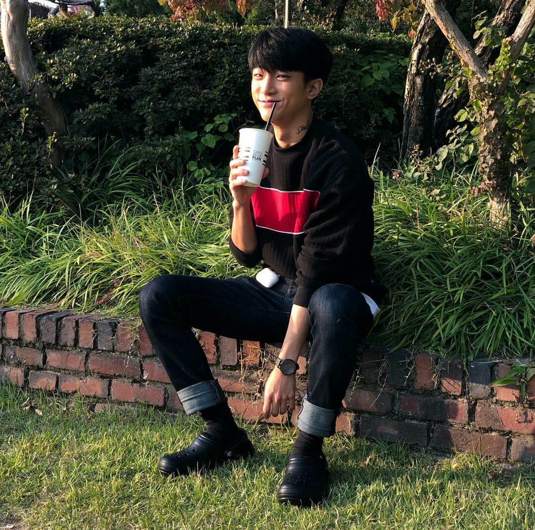 aesthetic, lee junghwan and asian fashion