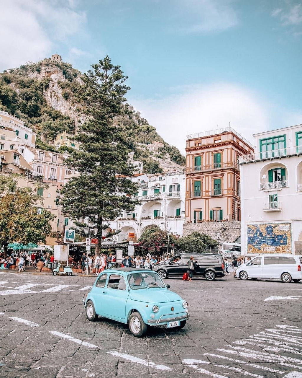 buildings, italy and amalfi