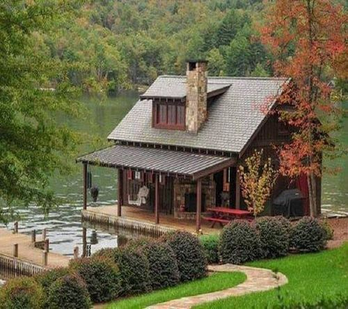 house, lake house, cozy and cottage