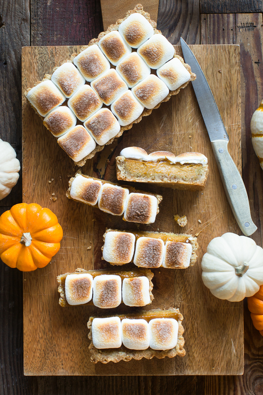 sweets, desserts and pumpkin