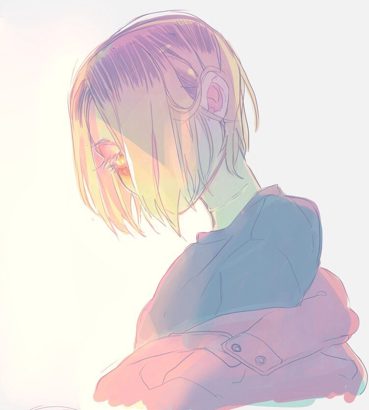 kenma kozume, volleyball, anime and cute