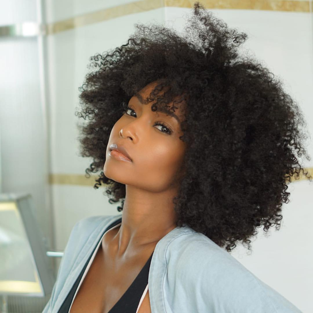 kinky curly hair, curly fro, curls and afro hair