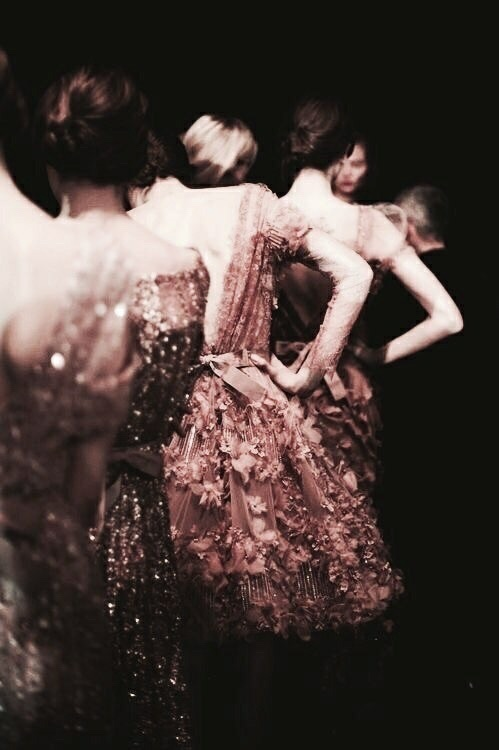 pink, models tumblr, rosegold and gowns