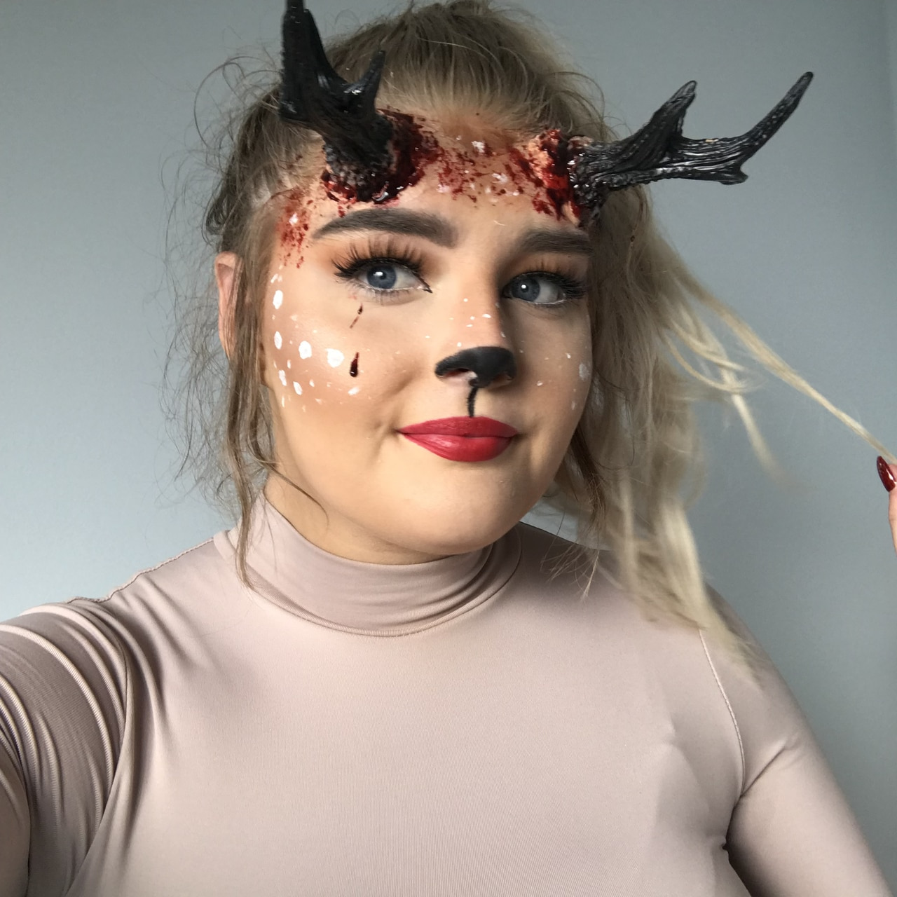 reindeer, special effects, halloween costume and sfx