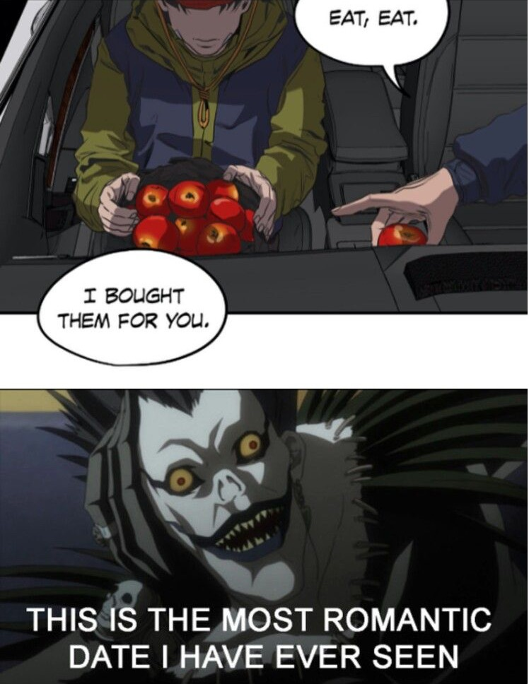 funny, memes, love for apples and anime