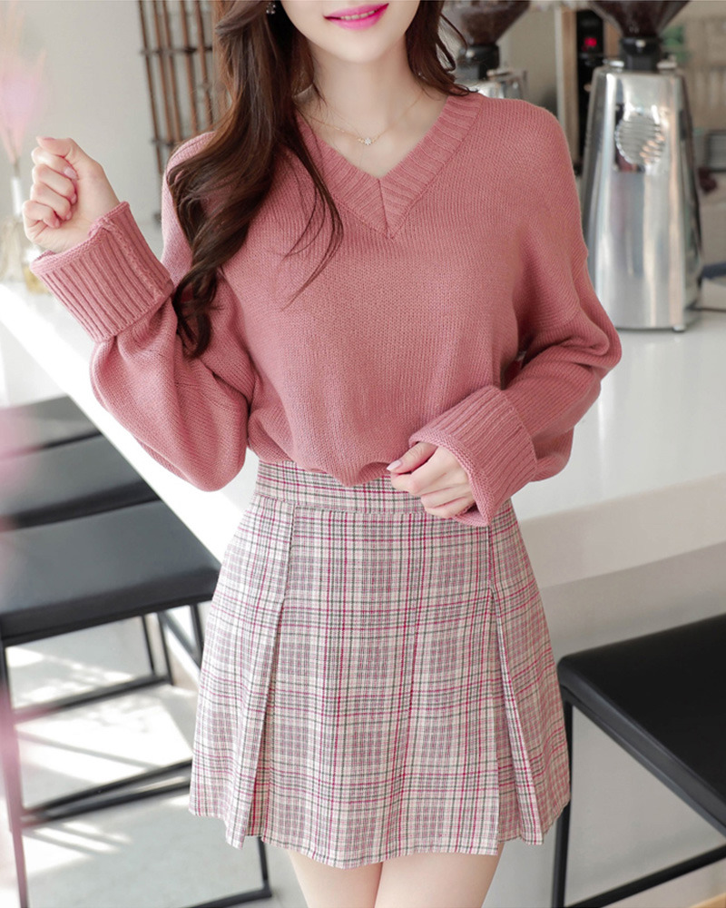 top, korean fashion, asian fashion and knit