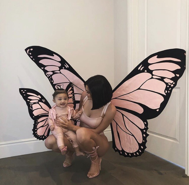 october 31, butterfly effect, baby stormi and baby butterfly