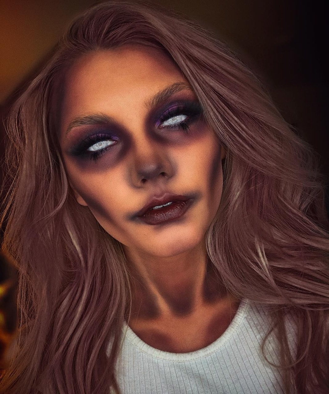 spooky, halloween, aesthetic makeup and halloween makeup