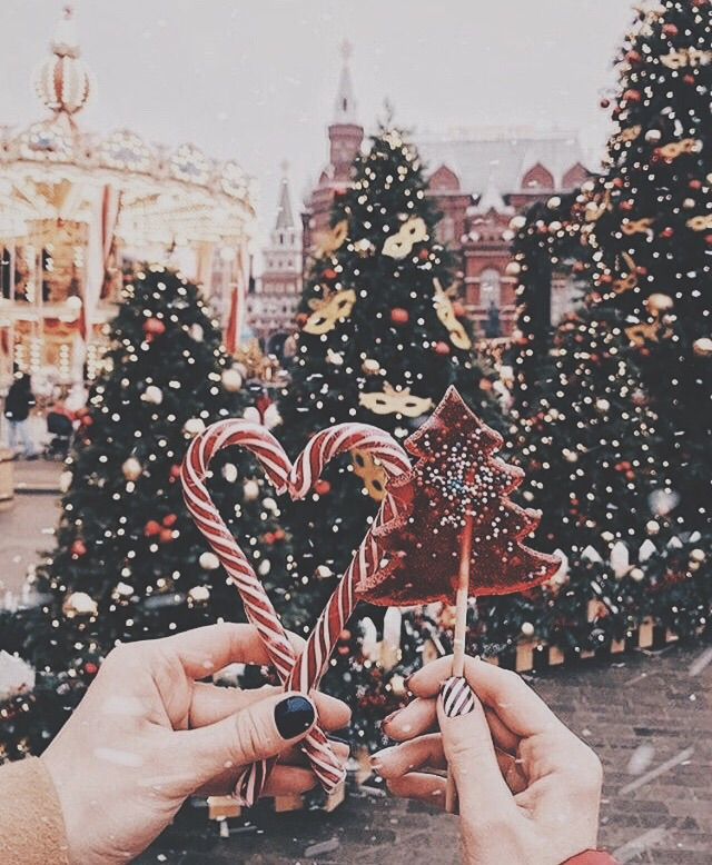 christmastree, candy, winter and vscocam