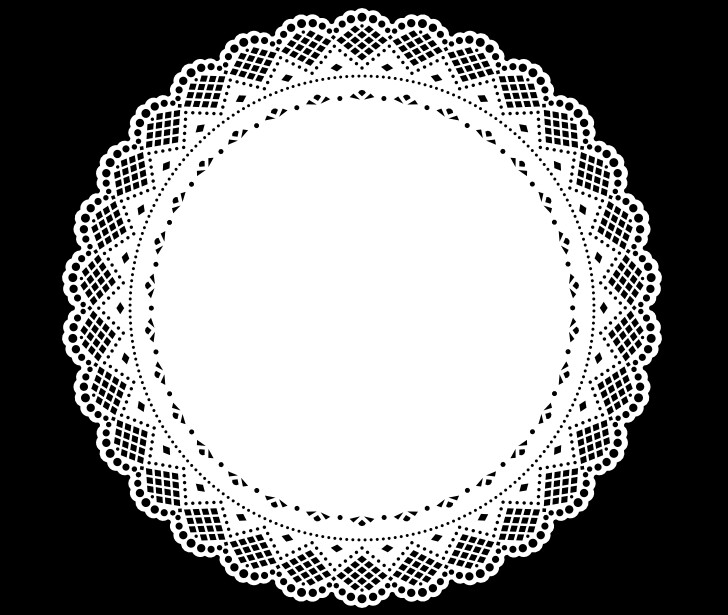 circle, edits, overlays black and white and edit
