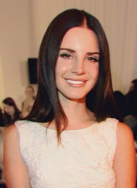 Cute Smile Lana Del Rey And God Is A Woman Image 6518980 On Favim Com