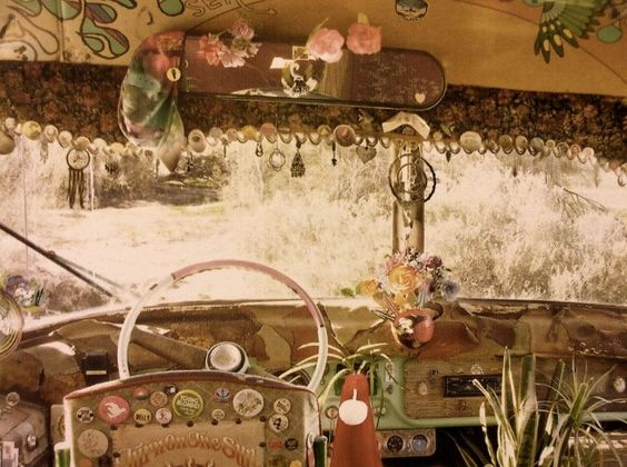 photo, interior, traveling and volkswagen bus
