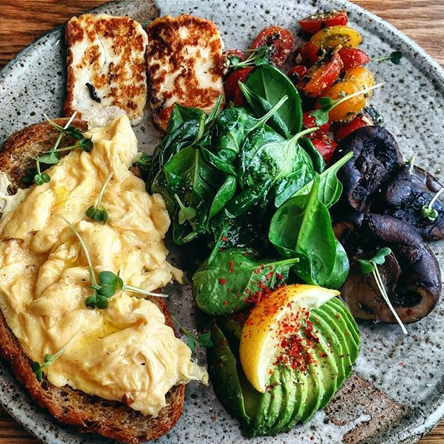 scrambled egg, food styling, breakfast and foodporn
