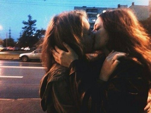 girls, lesbians, lgbt couple and love