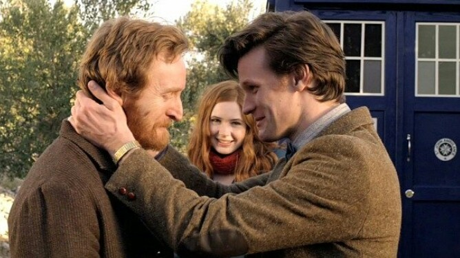 vincent and the doctor, vincent van gogh, amelia pond and doctor who