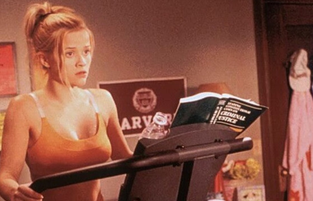 elle woods, school, books and healthy lifestyles