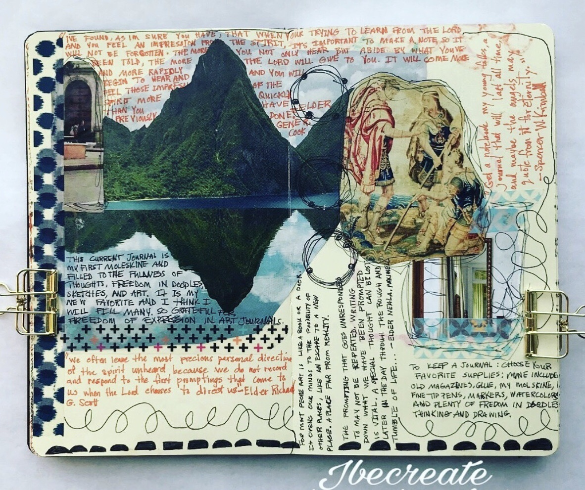 journal inspo, art, sketchbook and writing