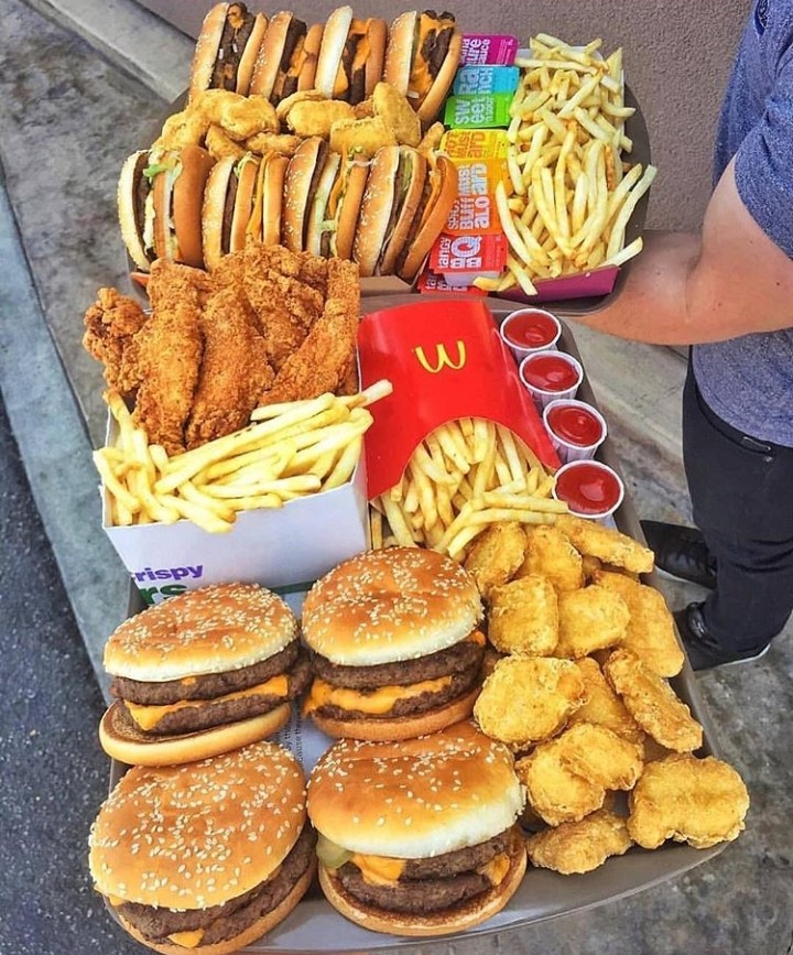 heart it, nuggets, cheese burgers and loving it