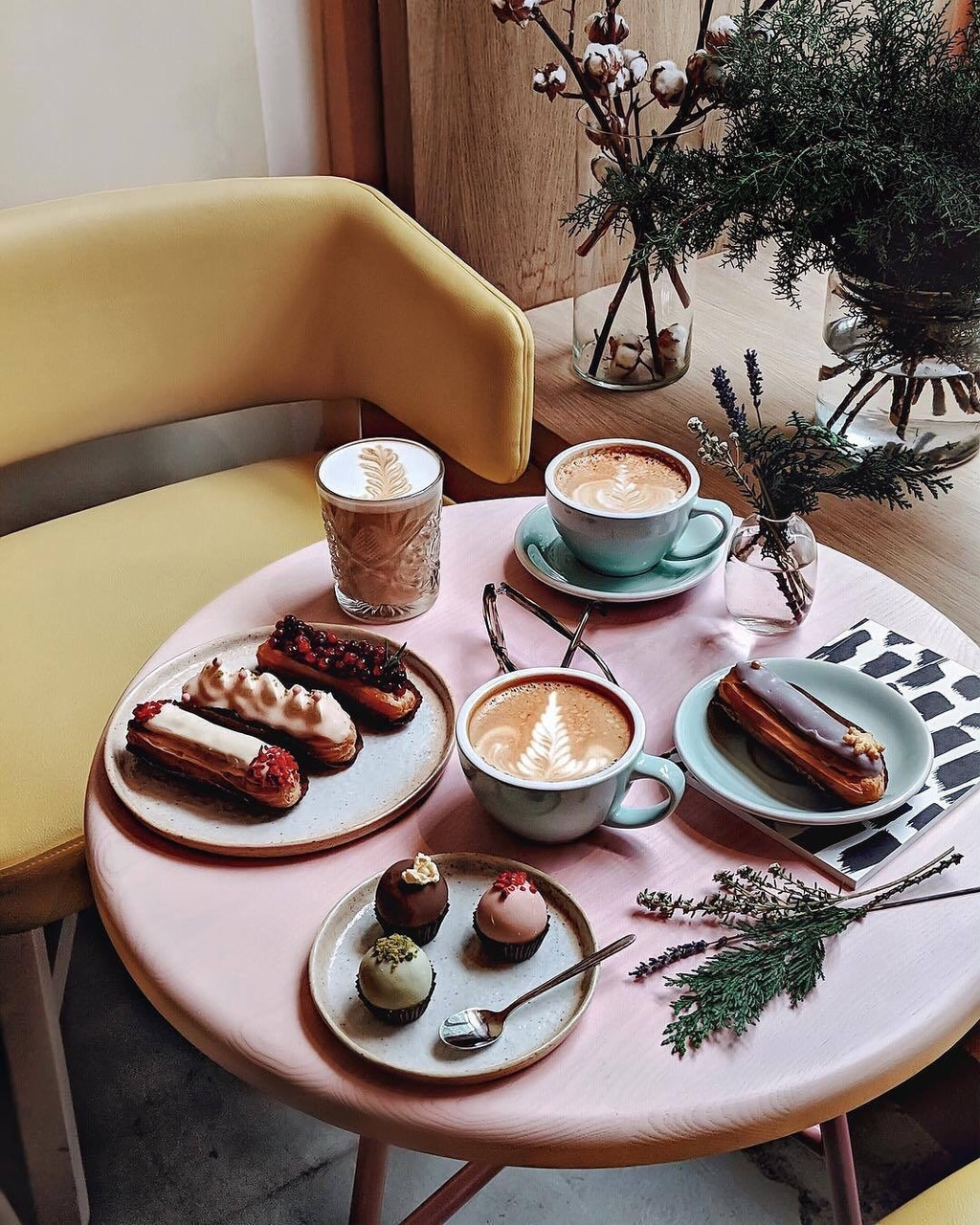 desserts, chic, cafe and pastry