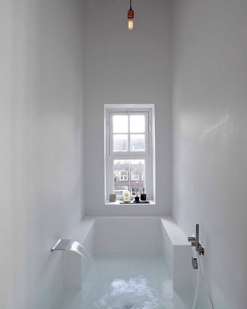 modern design, minimal, bathroom and white