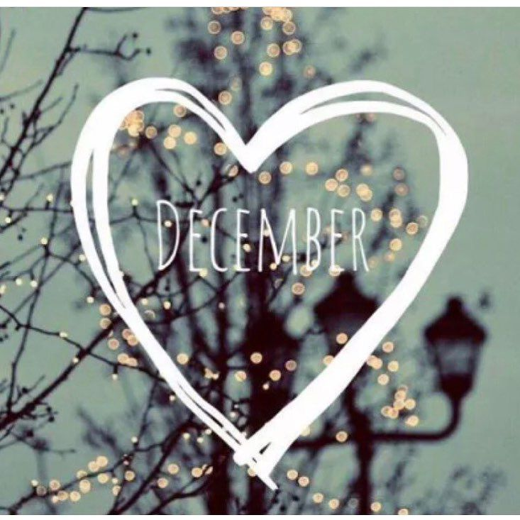 month, happy month, heart and hello december
