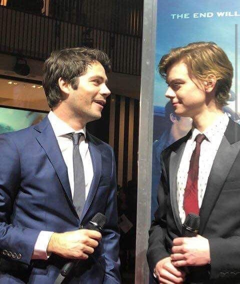newtmas, dylmas and the maze runner