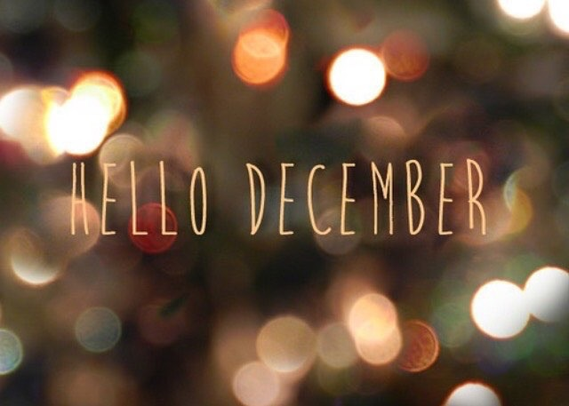 holidays, hello, december 1st and christmas