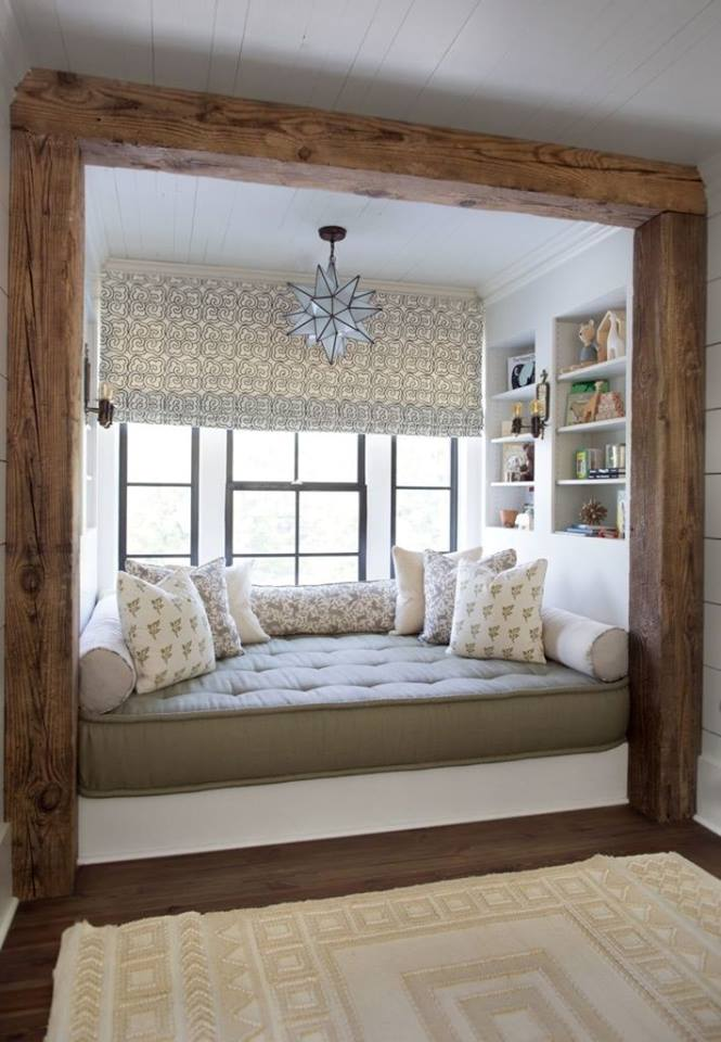 room, reading nook, design and home decor