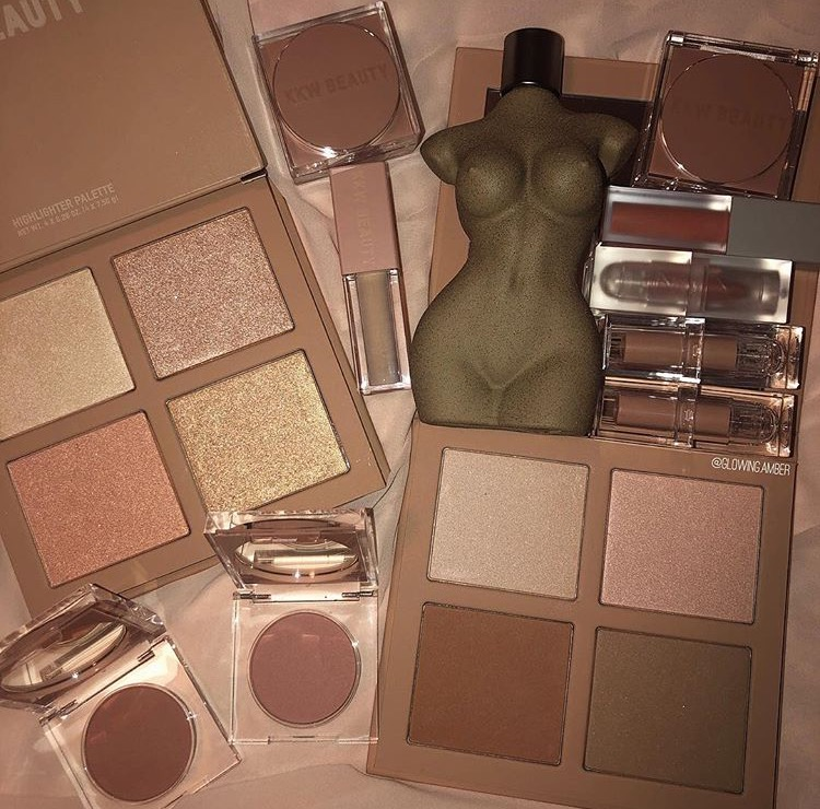 beauty, kkw beauty, makeup and palettes