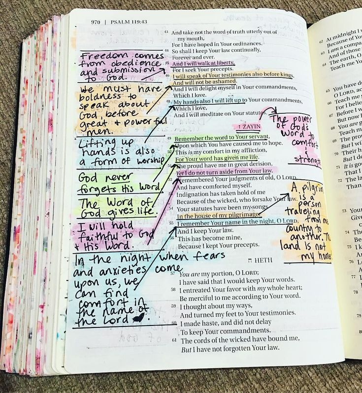 colorful, bible, bible study and faith