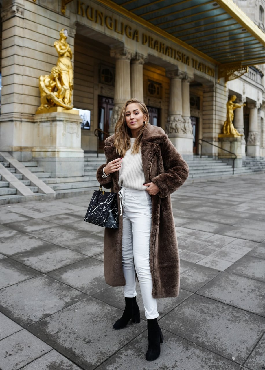 hair coat, fashion, faux fur coat and style