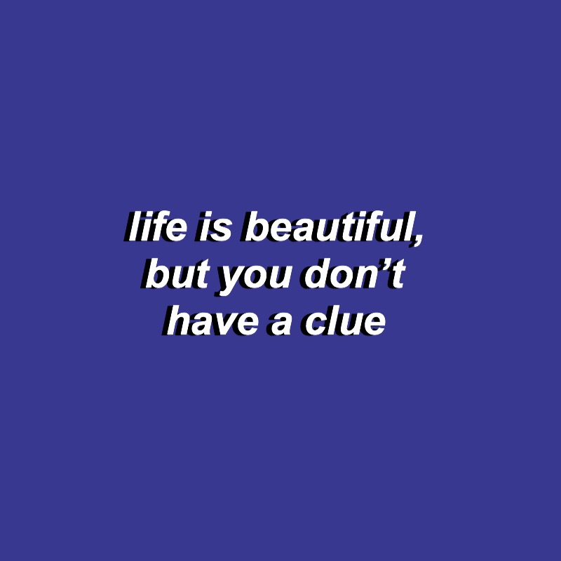 blue aesthetic, tumblr, lana del rey aesthetic and text theme