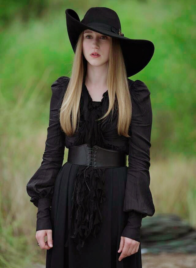 coven, hat and black