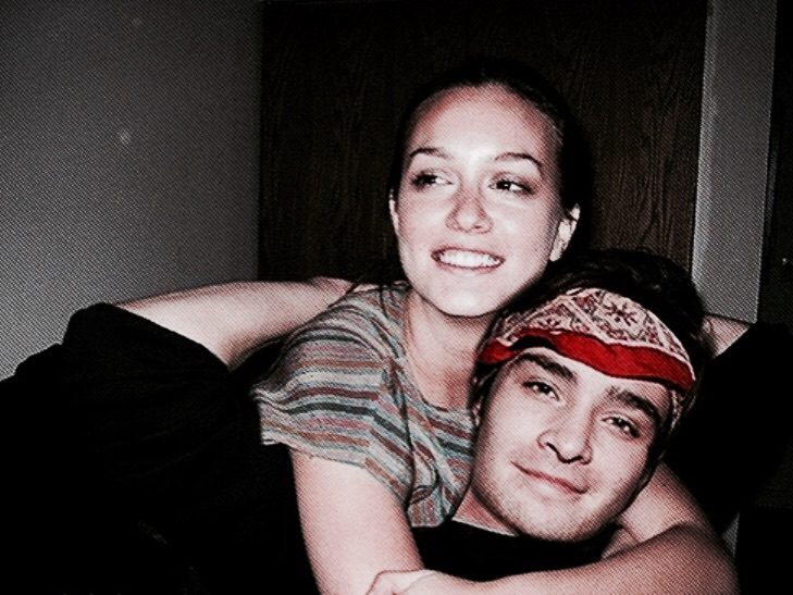 couple, rp model and chuck bass