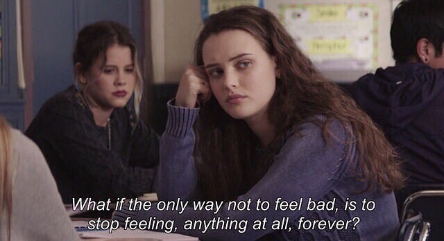 hannah baker, emotions and empty