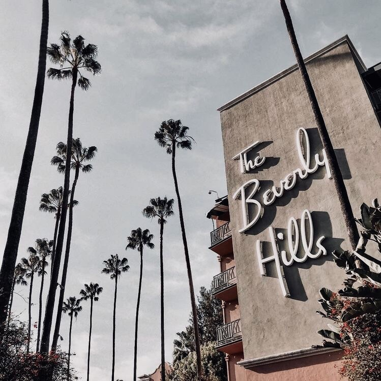 vintage, california and beverly