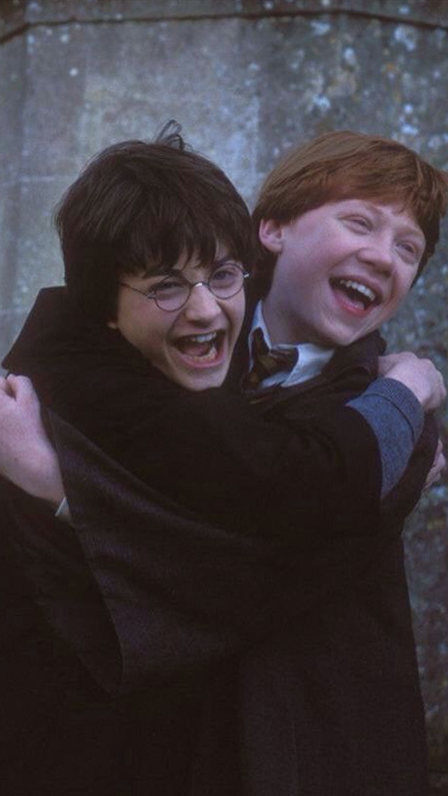 harry potter, ron, potter and ron weasley
