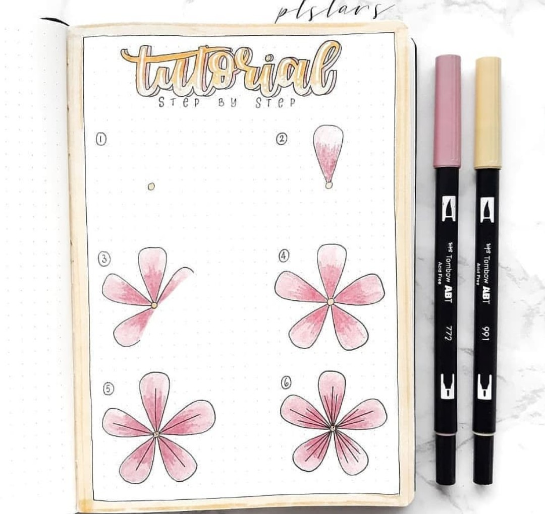 bullet journal, art and stationery