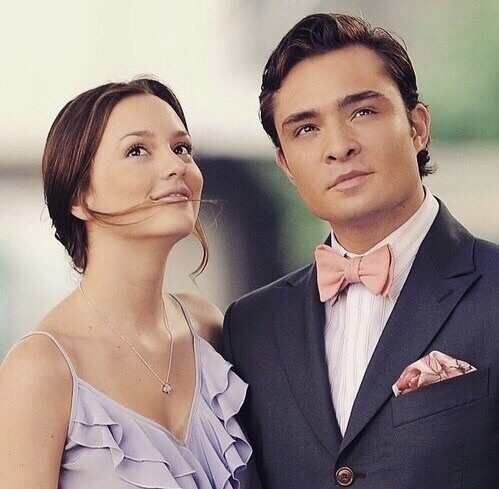gossip girl, chuck and blair and serie