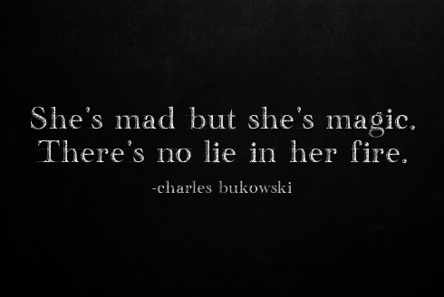 mad, she and fire