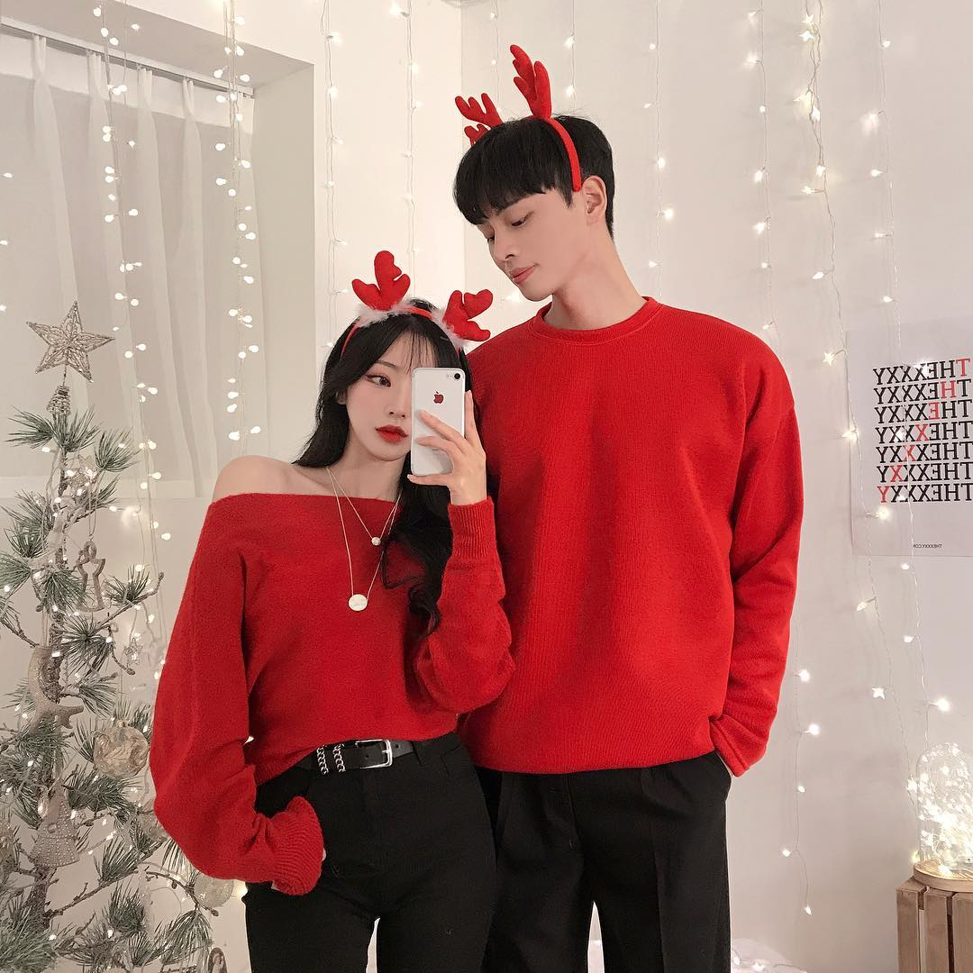 lights, couples, merry christmas and aesthetic couples