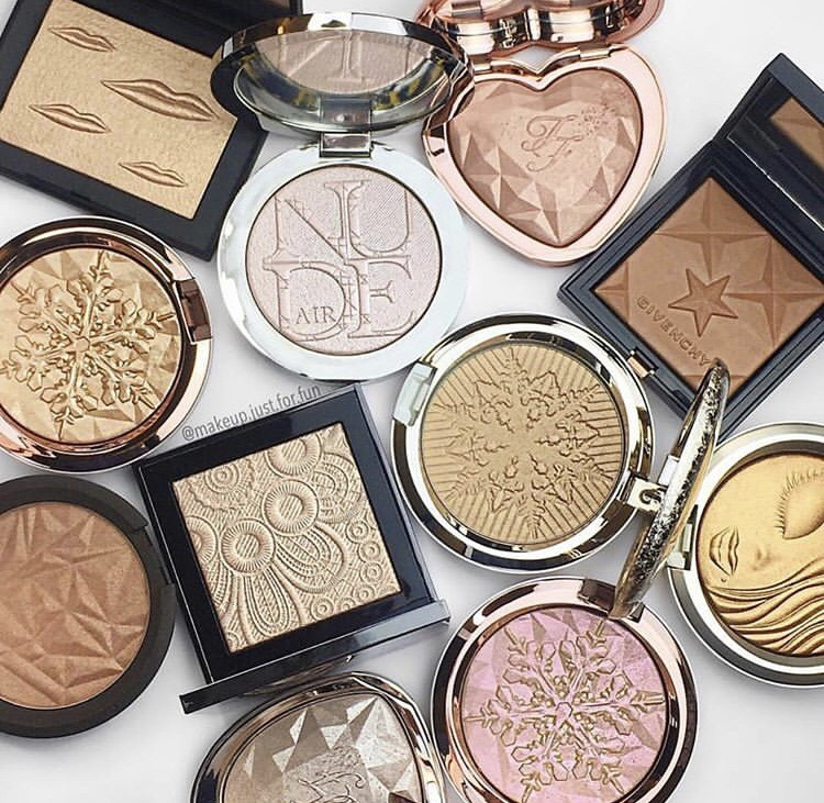 makeup products, blush, skin care and makeup looks